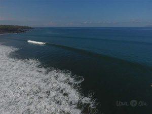 Waves in Pavones, Costa Rica