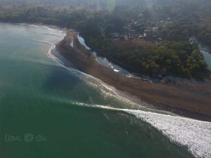 Pavones Point from drone